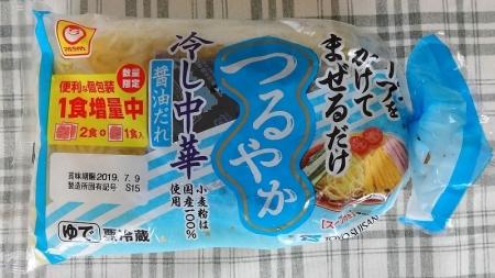 つるやか 冷し中華 醤油だれ 3人前 81円
