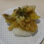 舞茸の天ぷら 茶塩