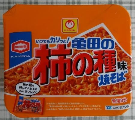 亀田の柿の種味焼そば 149円