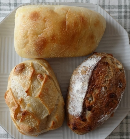 買ってきたパン