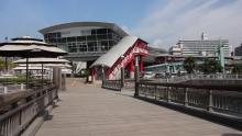 9:23 水族館前に桜島フェリーターミナルがあります