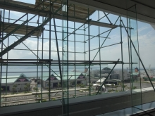 9:58 5F展望ホールからの眺め