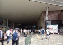9:59 札幌競馬場到着