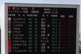 12:22 第5レースの内容