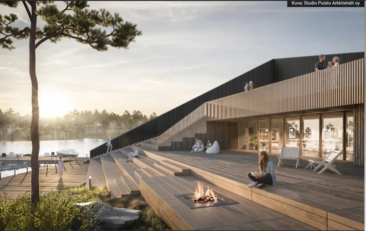 Ähtäri sauna Studio Puisto Arkkitehdit oy
