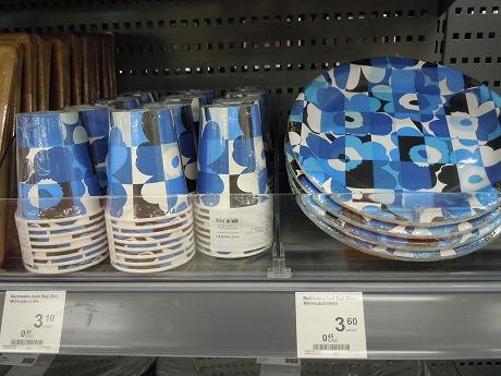 マリメッコ紙皿と紙コップ