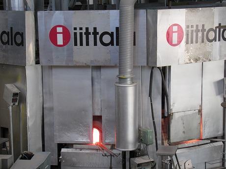 Iittalaガラス工場内2