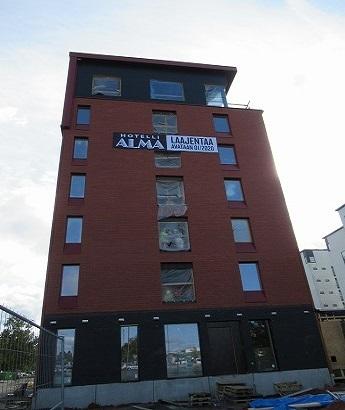 ホテルアルマ新しい建物