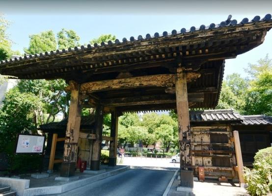 黒門(旧方丈門)