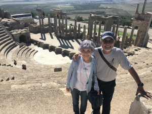 チュニジア ローマ遺跡