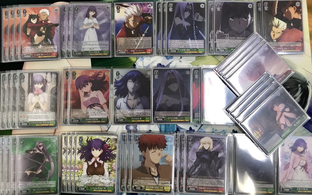 WS優勝デッキレシピFate/stay night2019/07/10