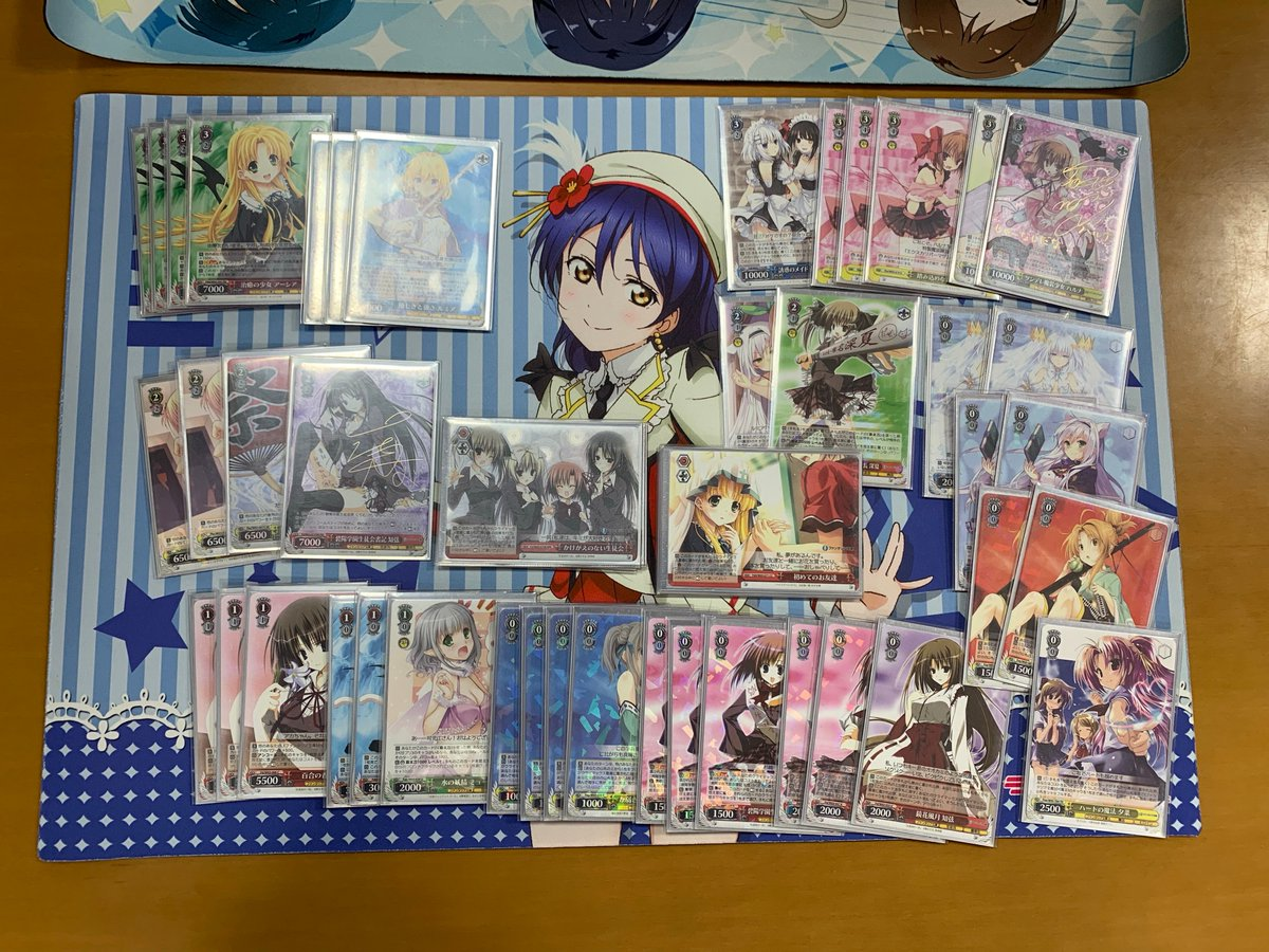 WS優勝デッキレシピ富士見ファンタジア文庫2019/09/20