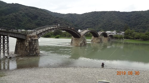 錦帯橋遠景