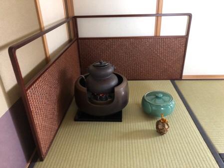 7月のお茶のお稽古と日本橋のお土産