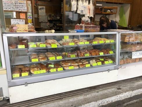 横須加のパン・コストコのパン