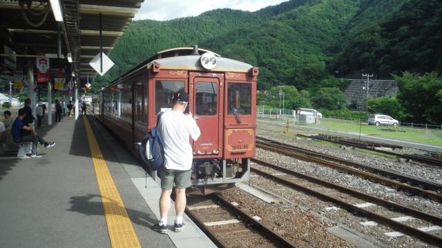 釜石駅三鉄出発