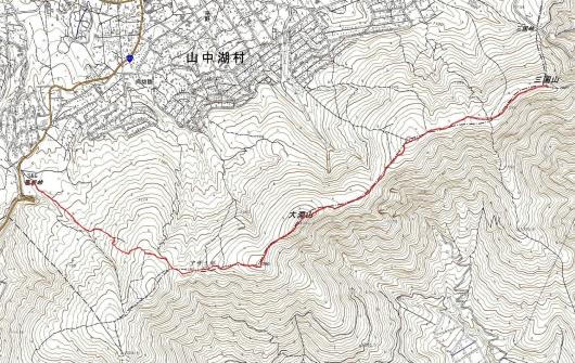 190715 三国山軌跡