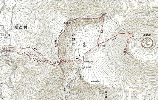 190717 黒班・前掛山軌跡