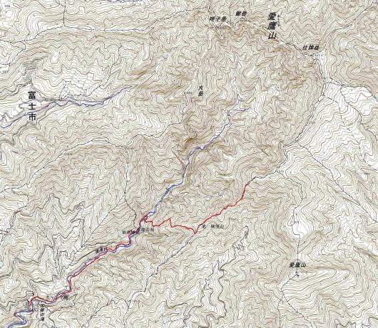 190722位牌岳軌跡