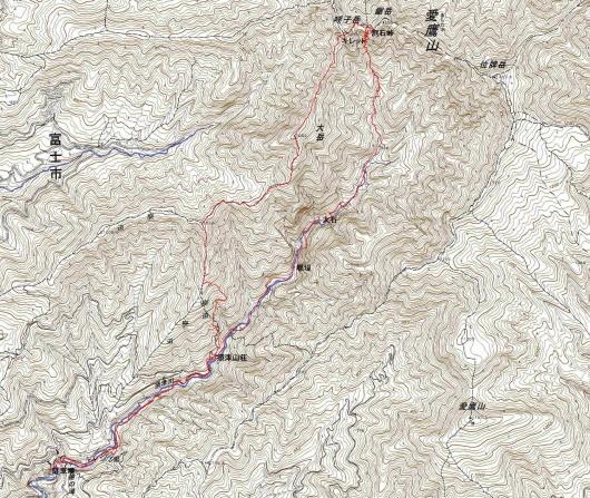 190802 割石沢軌跡