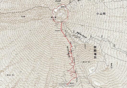 190819 富士山軌跡