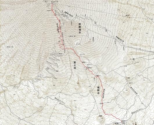 190901 富士山軌跡
