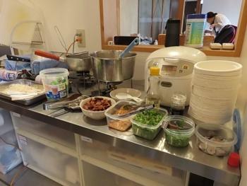 台湾料理コーナー