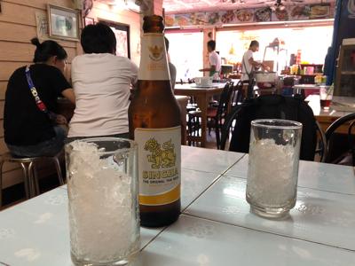 シンハー大瓶