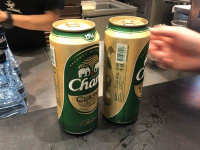 Changビール500ml缶