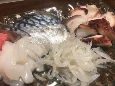 イカ・タコ・白魚・〆鯖
