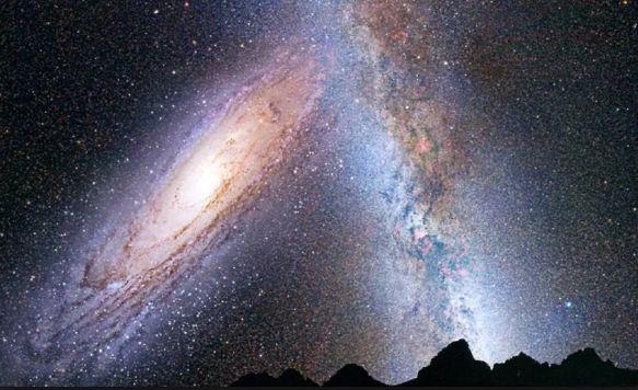 銀河と天野川