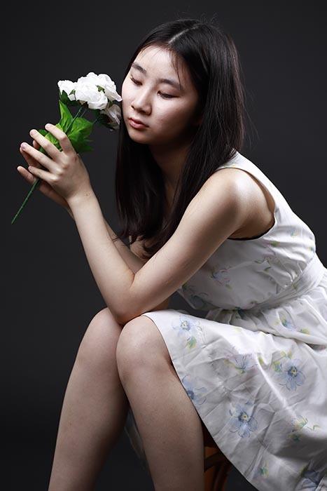 香奈恵:白い花