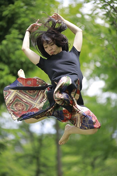 夏葉:ジャンプ