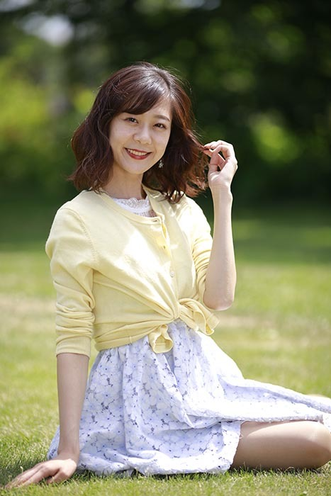 伊織:黄色のシャツ