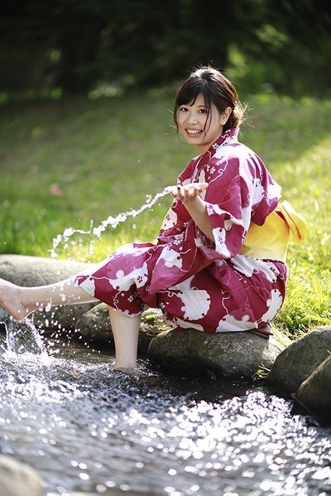 はるか:水遊び3