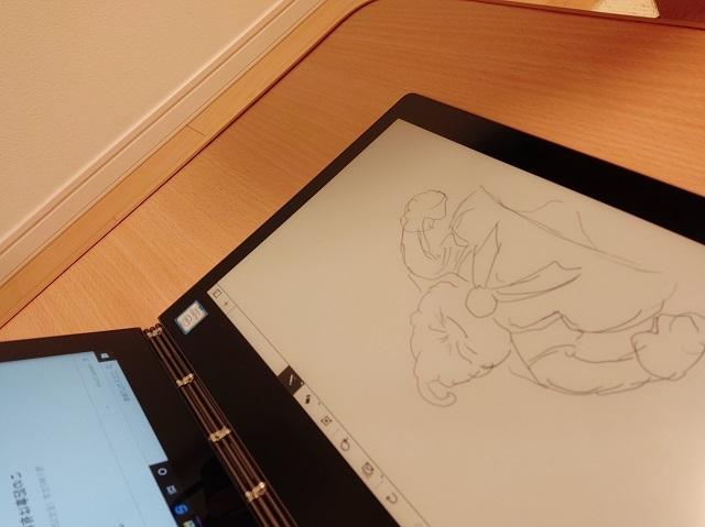 Yoga Book C930 絵を描いてみた その1