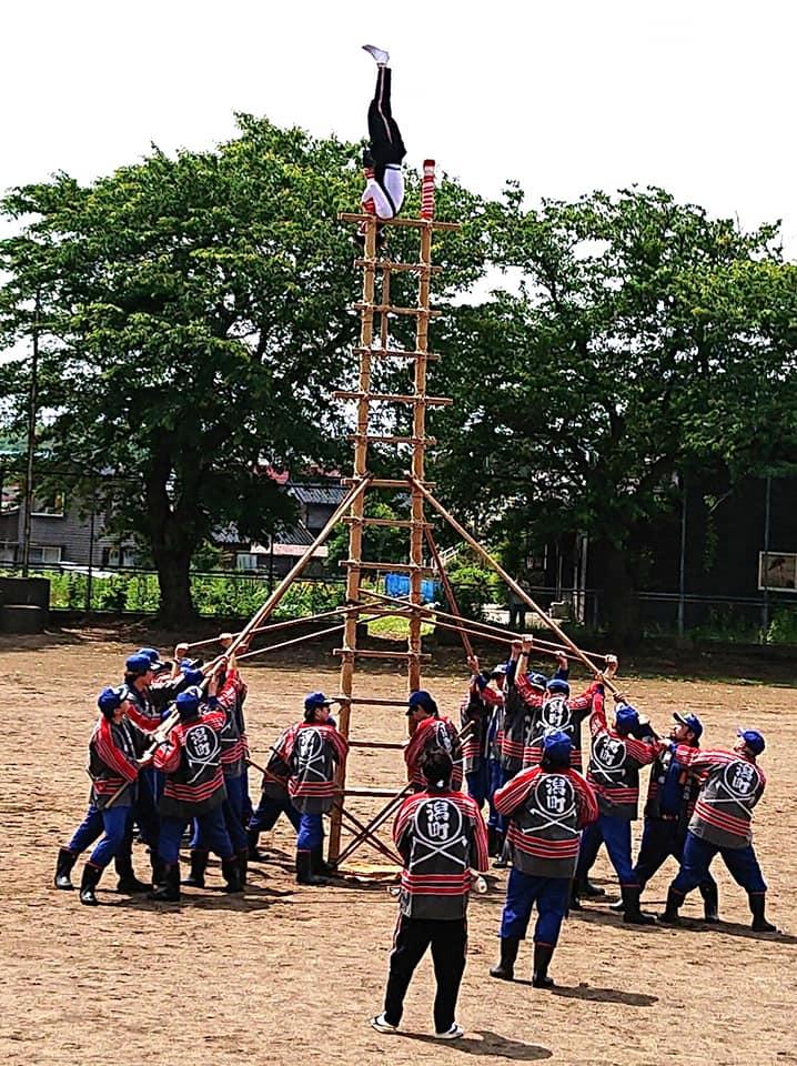 【地元の消防団・消防隊の合同演習】-2