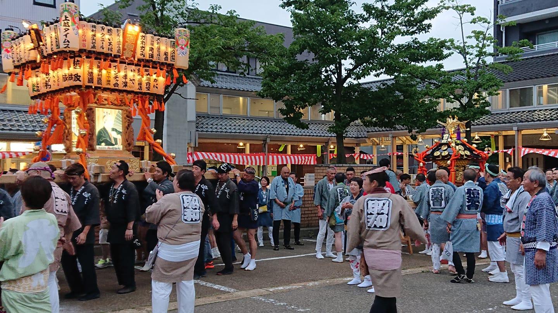 上越祭り神輿