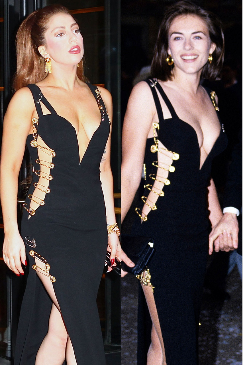 14 Lady Gaga Vs Liz Hurley