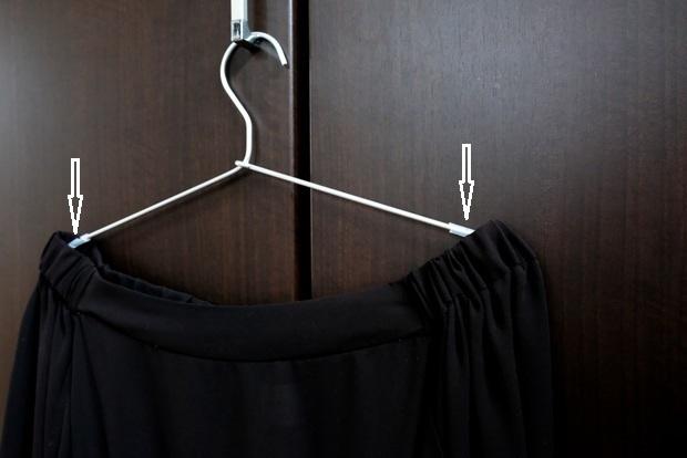 セリア・ハンガー用 すべり止めチューブ・無印・アルミ洗濯ハンガー②