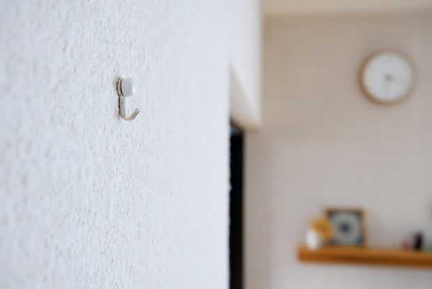 石こうくぎ・リビング壁①