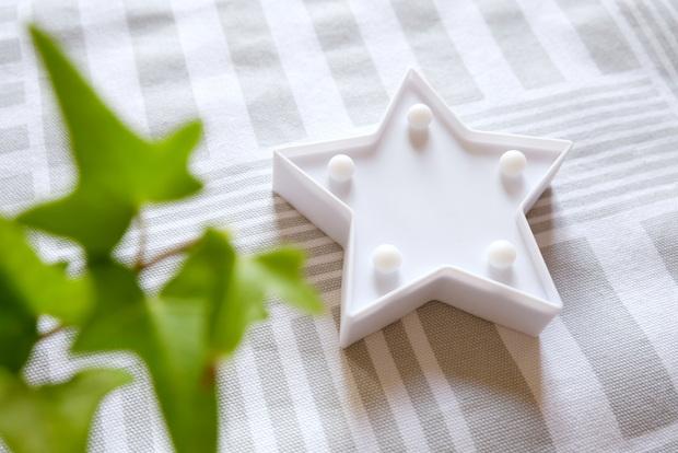 セリア・LEDキーマーライト・星②