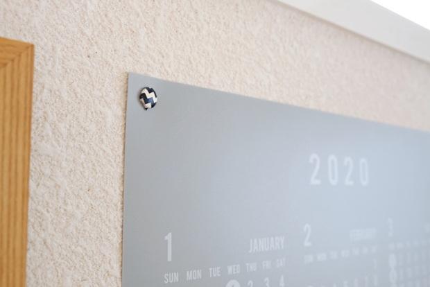 セリア・PPビッグカレンダー2020・子供部屋・画びょう①