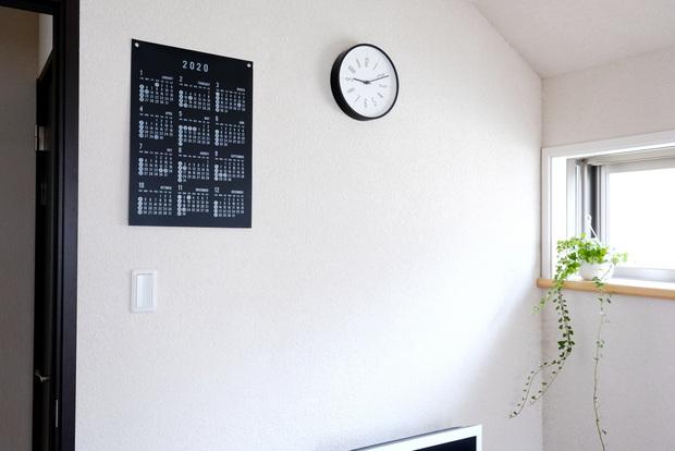 セリア・PPビッグカレンダー2020・寝室①