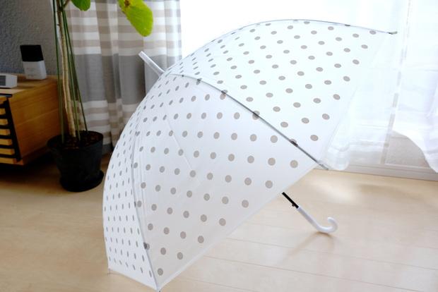 ダイソー・EVA傘 (ドット、60cm)②