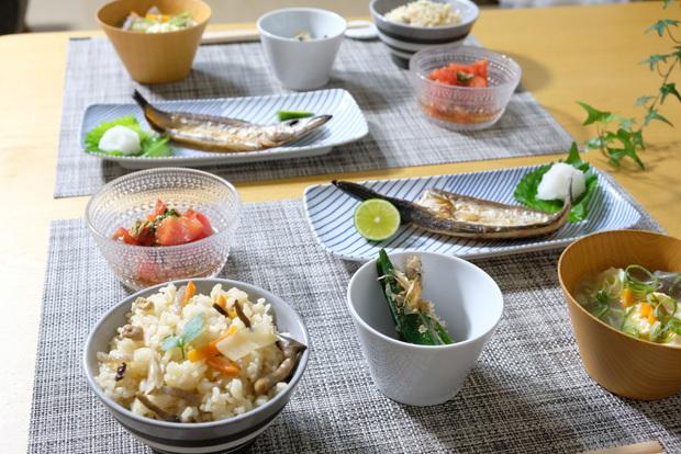 料理・カステヘルミ・ボウル・焼き魚①