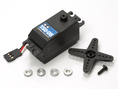 TSU-06 ロープロファイル デジタル サーボ(防滴タイプ)