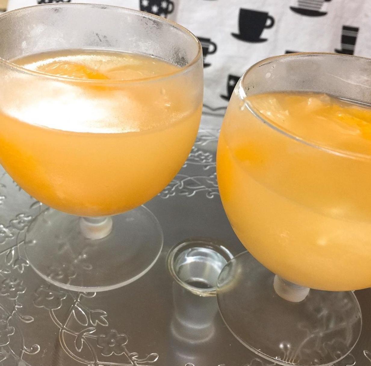 令和元年06月28日グレープフルーツとオレンジのゼリー