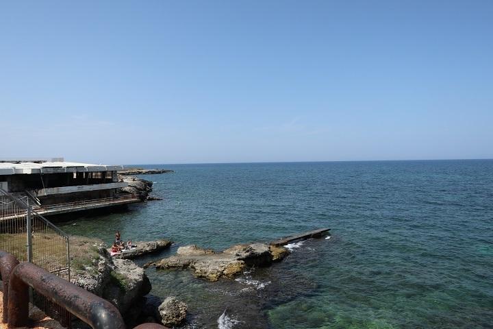 アドリア海を望む
