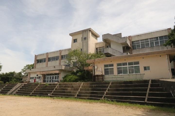 柱島に唯一あった小学校兼中学校